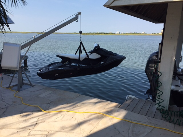 Spark Lift Sling - To Lift Using Davit - Sea-Doo Spark Forum